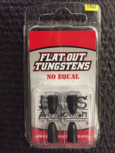 FLAT OUT TUNGSTENS - 1/8oz