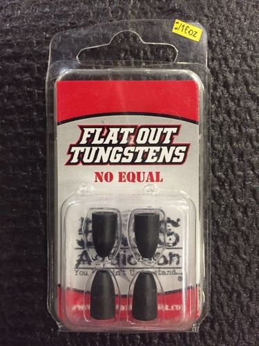 FLAT OUT TUNGSTENS - 3/16oz