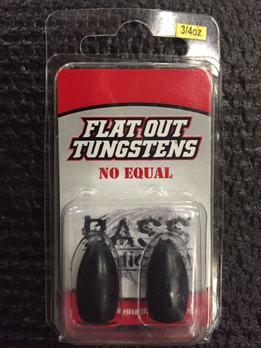FLAT OUT TUNGSTENS - 3/4oz