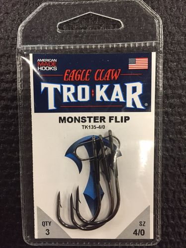 TROKAR MONSTER FLIP HOOK 4/O