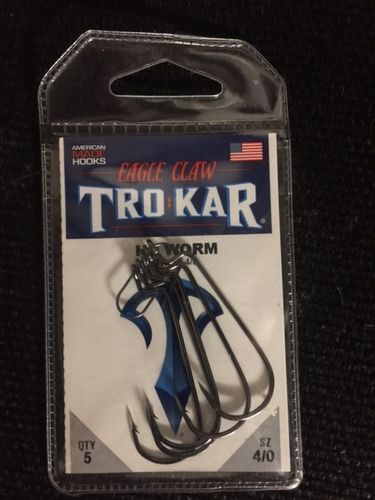 TROKAR HD WORM HOOK 4/O