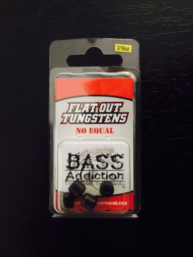 FLAT OUT TUNGSTEN- BARREL WEIGHT- 3/16oz