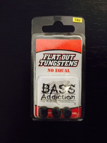 FLAT OUT TUNGSTEN- BARREL WEIGHT- 1/4oz