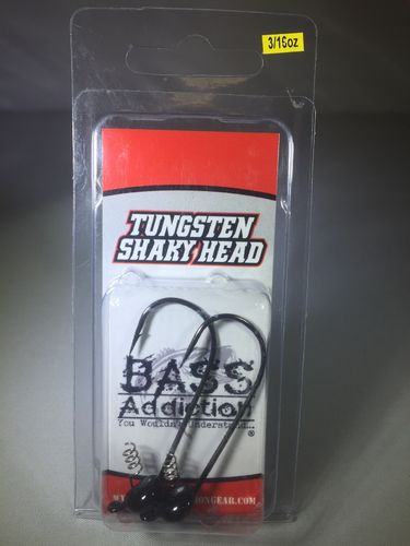 TUNGSTEN- SHAKY HEAD- 3/16oz
