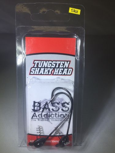 TUNGSTEN- SHAKY HEAD- 1/4oz