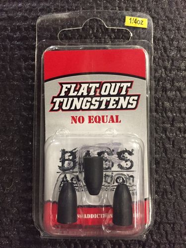 FLAT OUT TUNGSTENS - 1/4oz
