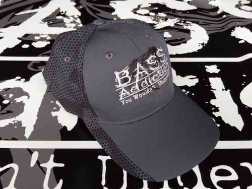 BASS ADDICTION HAT - IRON GRAY