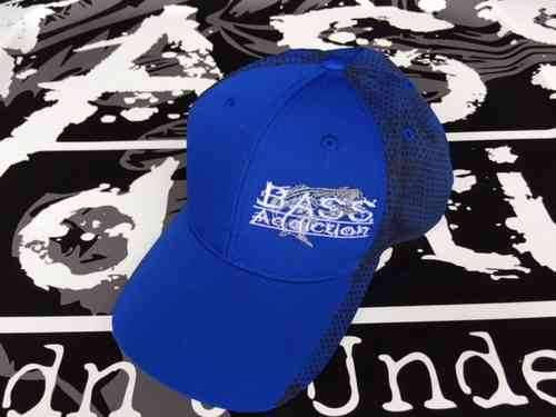BASS ADDICTION HAT-SIDE LOGO - TRUE ROYAL