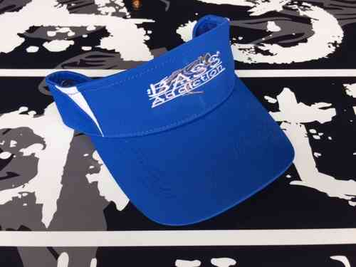 BASS ADDICTION VISOR- BLUE