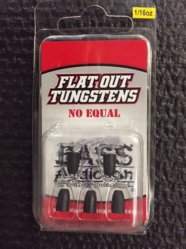FLAT OUT TUNGSTENS - 1/16oz