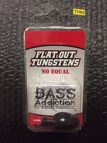 FLAT OUT TUNGSTEN- SKIRTED PUNCH WEIGHT- 1 1/4oz