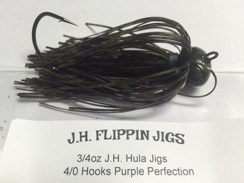 JH HULA JIGS-3/4oz- PURPLE PERFECTION