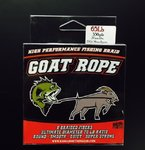 GOAT ROPE BRAID - 65lb/330yds