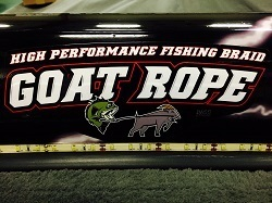 "GOAT ROPE STICKER- 15"" x 6"""