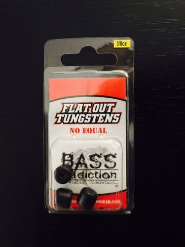 FLAT OUT TUNGSTEN- BARREL WEIGHT- 3/8oz