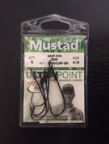 MUSTAD GRIP PIN EDGE 4OT