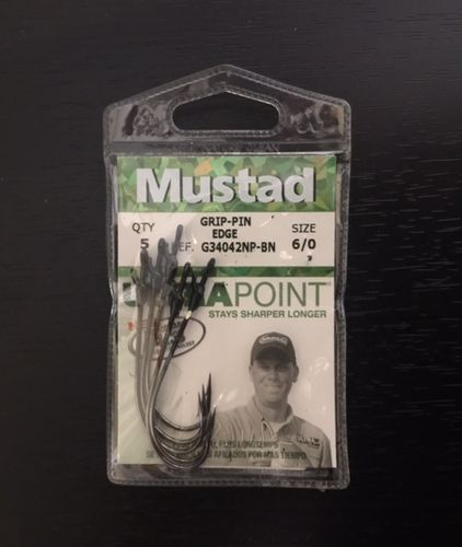 MUSTAD GRIP PIN EDGE 6OT
