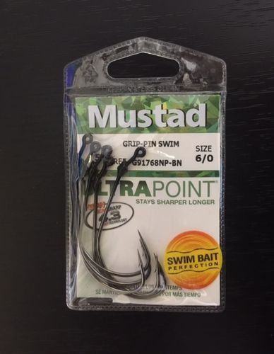 MUSTAD GRIP PIN SWIM PERFECTION 6OT