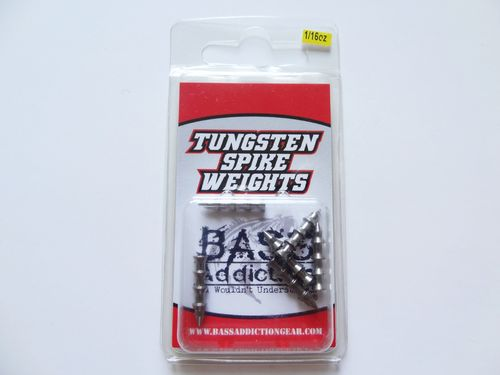 TUNGSTEN SPIKE WEIGHTS- 1/16oz