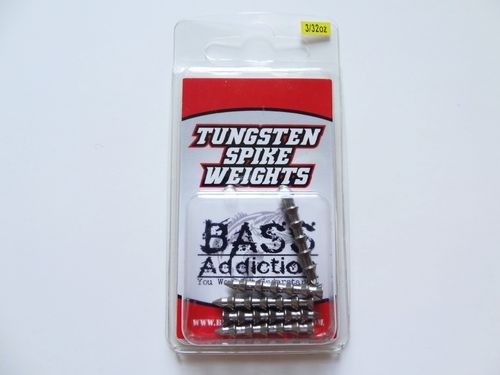 TUNGSTEN SPIKE WEIGHTS- 3/32oz