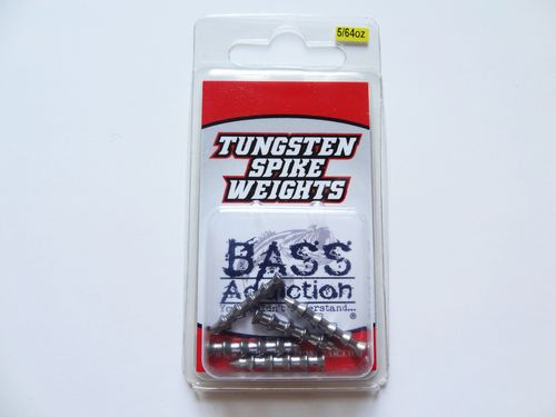 TUNGSTEN SPIKE WEIGHTS- 5/64oz