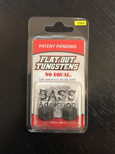 FLAT OUT TUNGSTEN- BARREL WEIGHT- 1/2oz