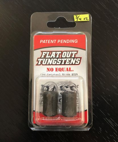 FLAT OUT TUNGSTEN- BARREL WEIGHT- 3/4oz